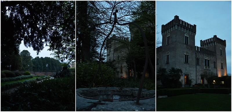 Castello di Bevilacqua, giardini pensili