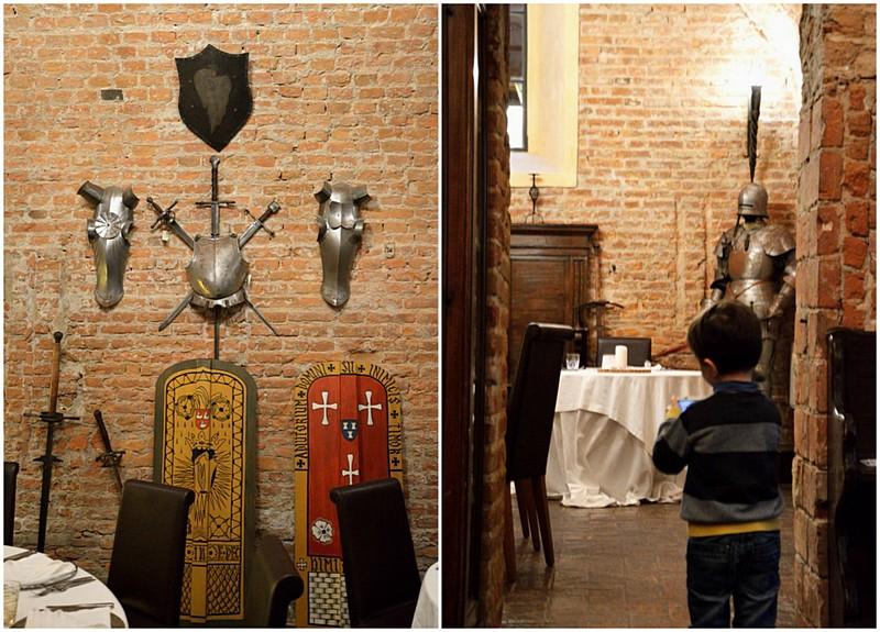 Castello di Bevilacqua, stanza dell'armeria