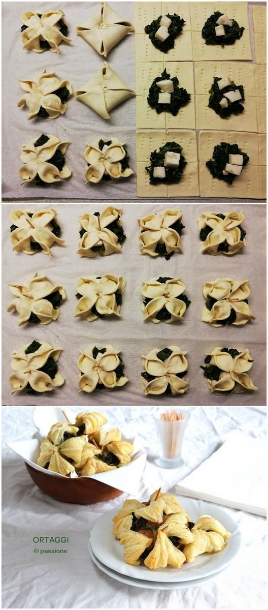 salatini spinaci e formaggio ORTAGGI che passione