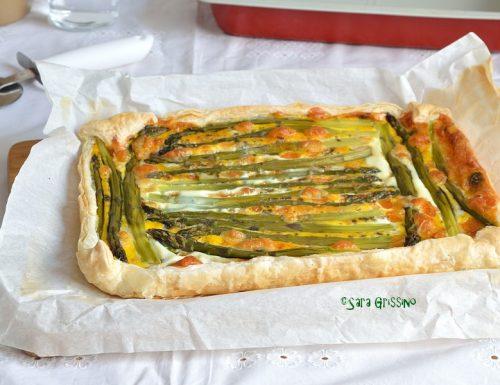 Torta salata asparagi e patate
