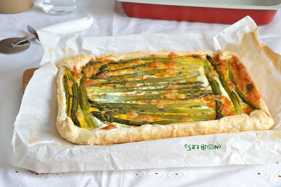 Torta salata asparagi e patate ORTAGGI che passione by Sara Grissino
