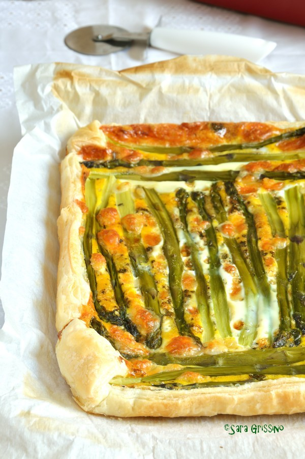 Torta salata asparagi e patate ORTAGGI che passione
