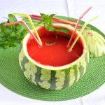 Bibita con anguria, ricetta analcolica e alcolica
