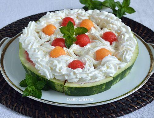 Torta di anguria – dolci senza cottura