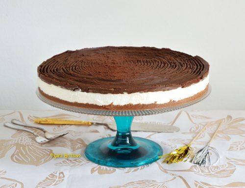 Cheesecake fredda senza glutine e gelatina