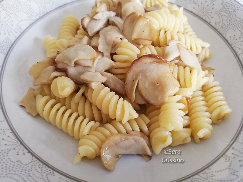 ricetta Pasta con funghi porcini ORTAGGI CHE PASSIONE by Sara Grissino