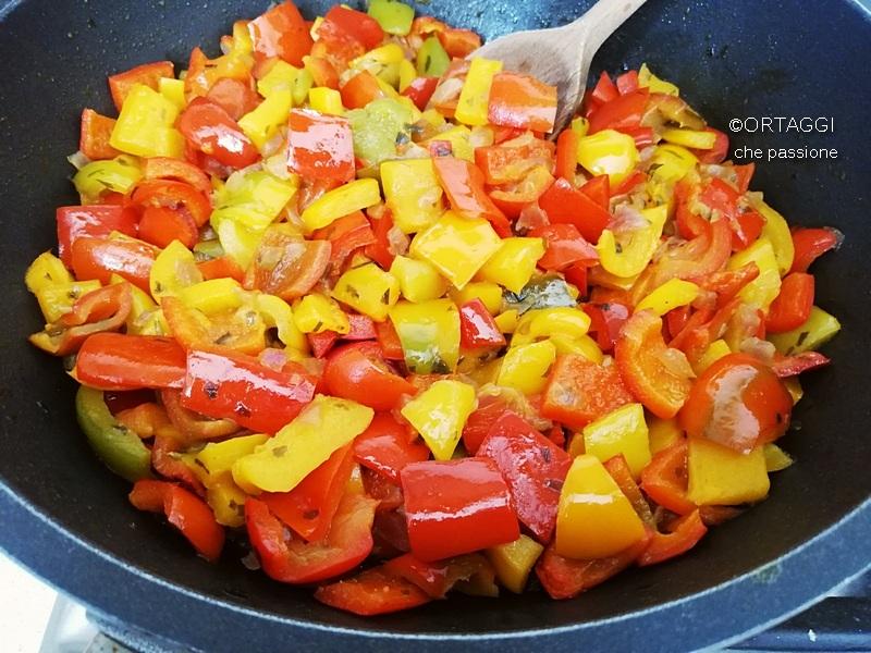 Peperoni in padella ricette veloci ORTAGGI CHE PASSIONE Sara Grissino