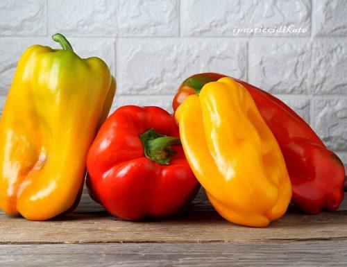 PEPERONI ricchi di: colore, vitamine…