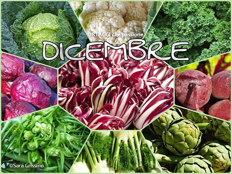 DICEMBRE DICEMBRE-calendario-verdura-di-stagione-ORTAGGI-CHE-PASSIONE-by-Sara-Grissino verdure autunnali e invernali