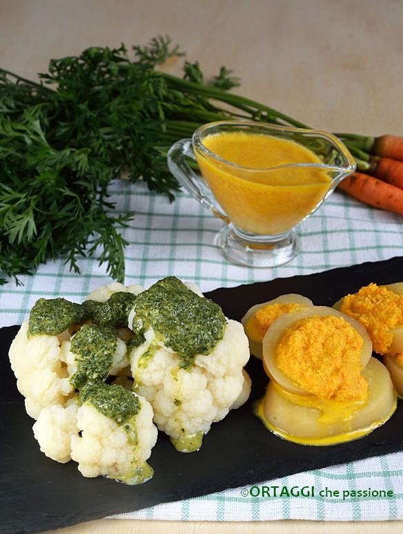 Salsa di carote arancione e verde ORTAGGI che passione by Sara Grissino