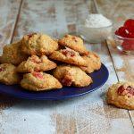 Biscotti cocco e ciliege candite