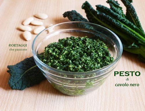 Pesto di cavolo nero – ricetta rapida