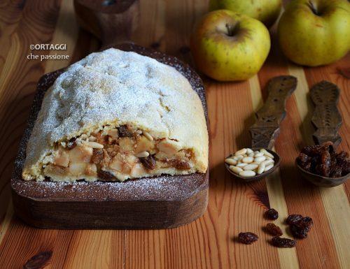 Strudel di mele con pasta frolla – ricetta golosa