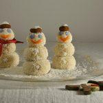 Pupazzi di neve dolci – ricetta facile