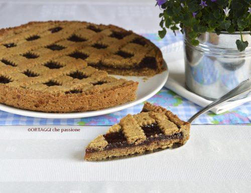 Crostata di grano saraceno – dolci senza glutine