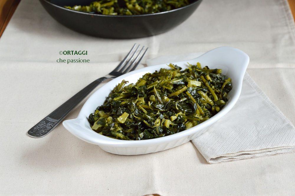 Broccolo fiolaro in padella ORTAGGI che passione by Sara Grissino