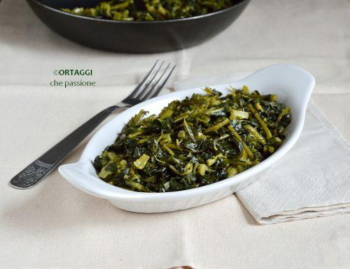 Broccolo fiolaro in padella