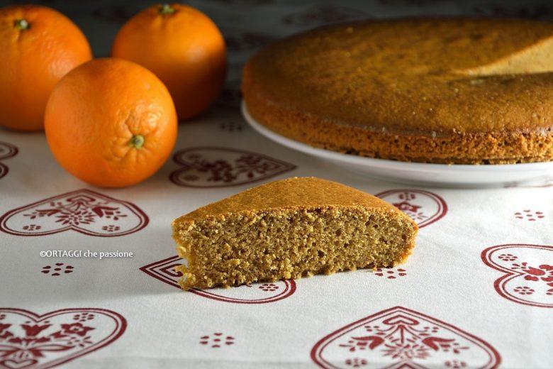 Torta integrale all'arancia