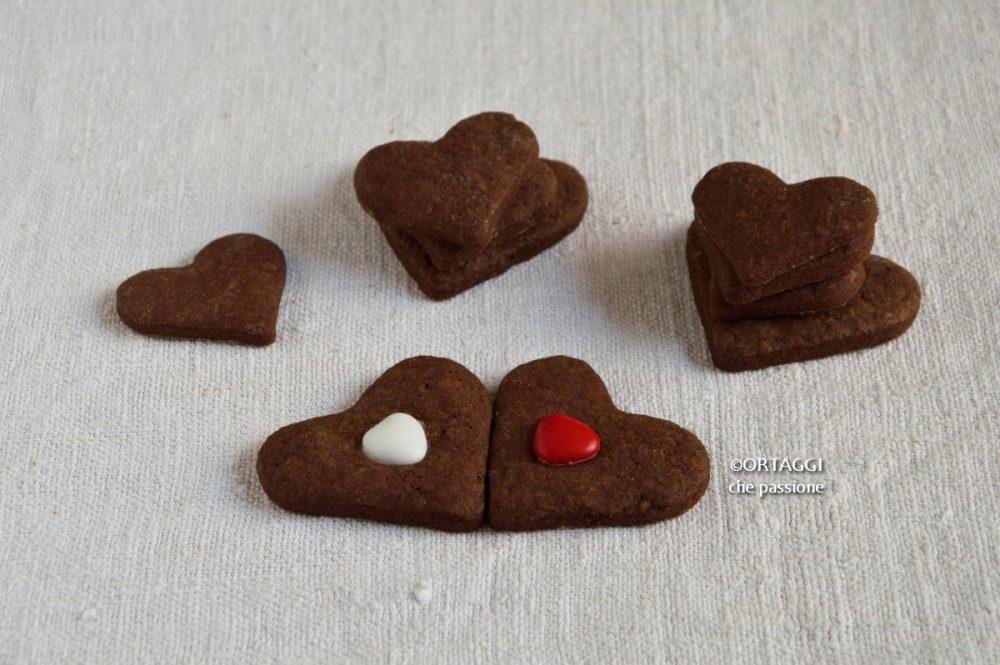 biscotti pasta frolla al cacao ORTAGGI che passione by Sara Grissino