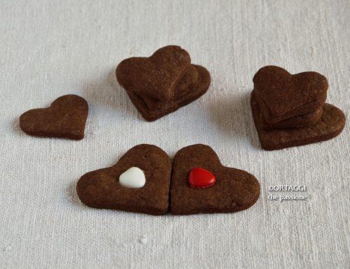 Biscotti pasta frolla al cacao