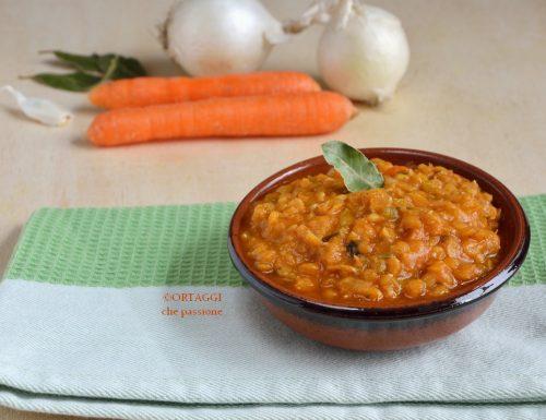 Ragù di lenticchie – ricette vegane
