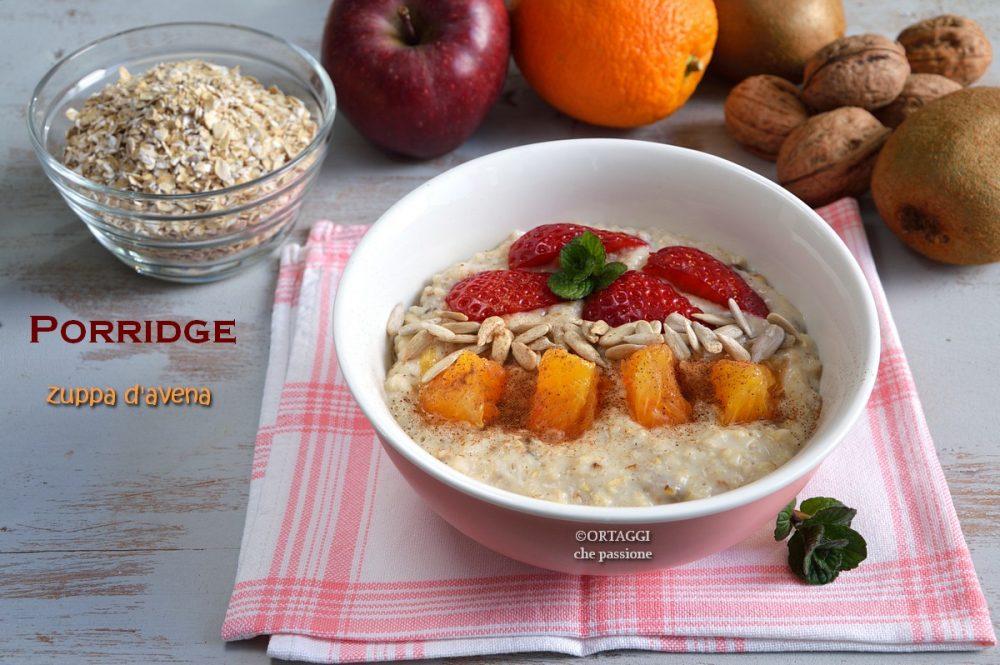 vegan Porridge di avena senza ammollo