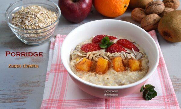Porridge di avena SUBITO PRONTO