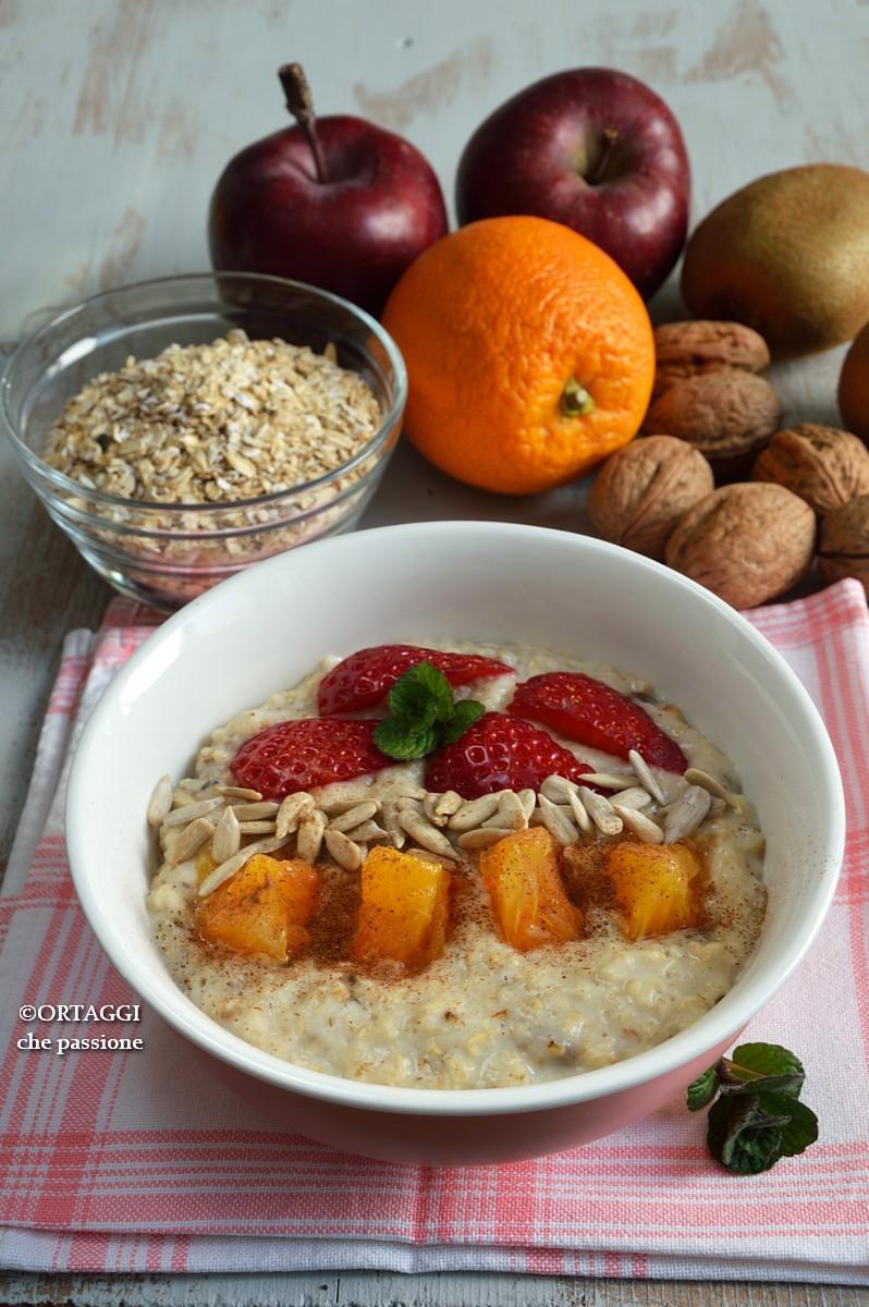 Porridge di avena senza ammollo