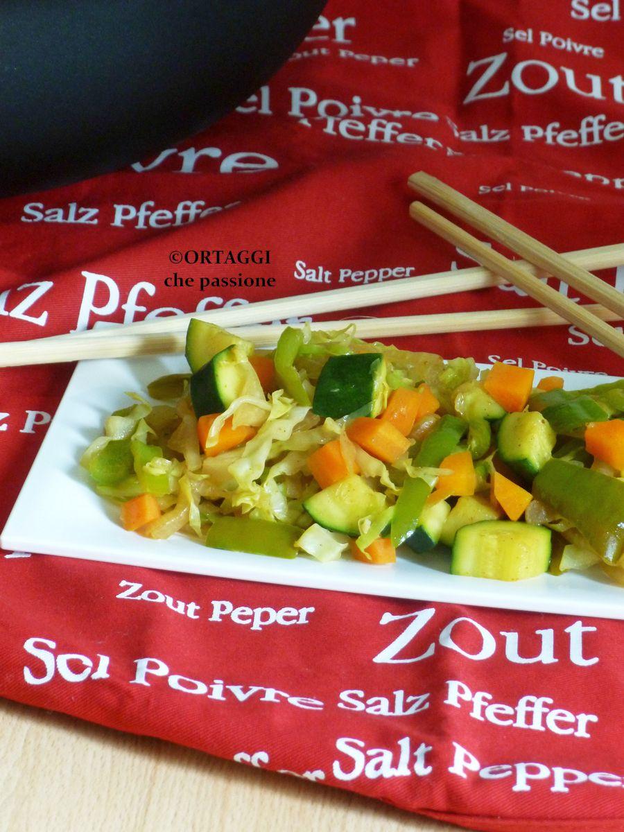 verdure saltate con salsa di soia