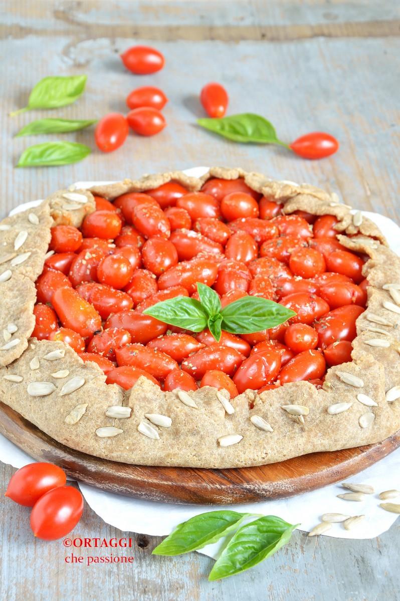 Galette salata vegana ai pomodorini PROTEICA