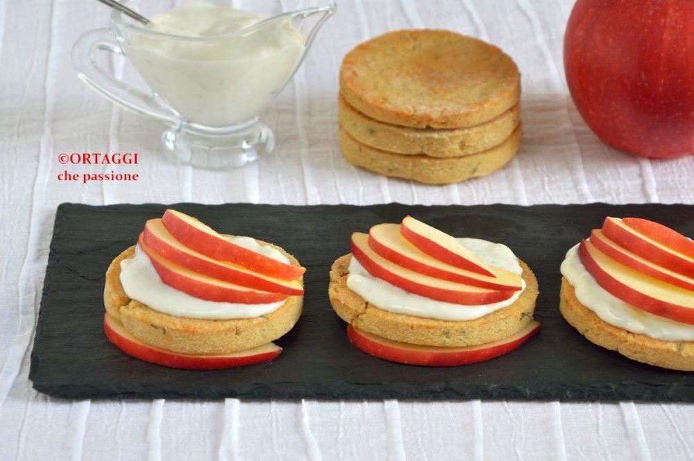 Antipasto con mele e formaggio - ORTAGGI che passione by Sara Grissino