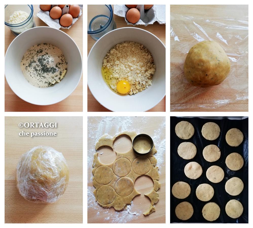 ricetta passo passo biscotti salati