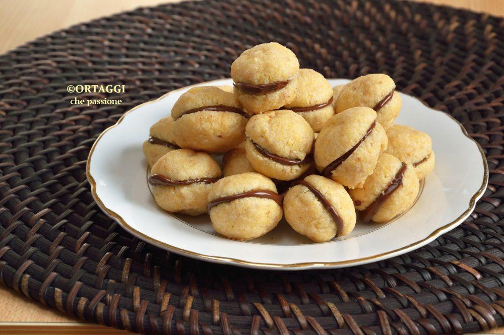 Baci di dama ricetta da pasticceria ORTAGGI che passione by Sara Grissino