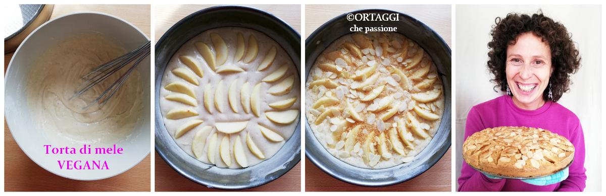 Sara Grissino e torta vegana di mele