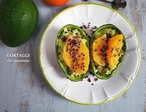 insalata di avocado e arance – ricetta dolce