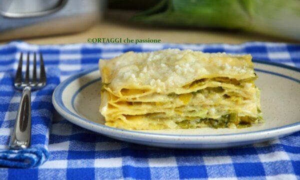 Lasagne porri e mascarpone – ricetta facile