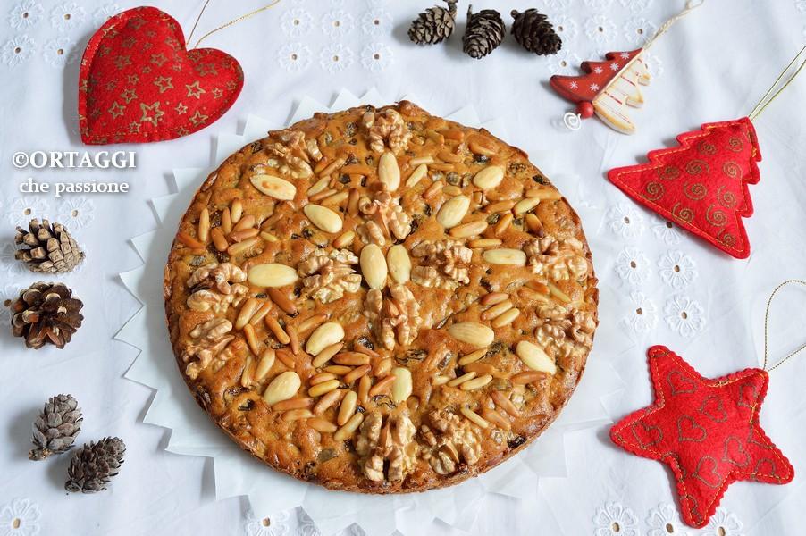 zelten trentino - dolce di Natale ORTAGGI che passione