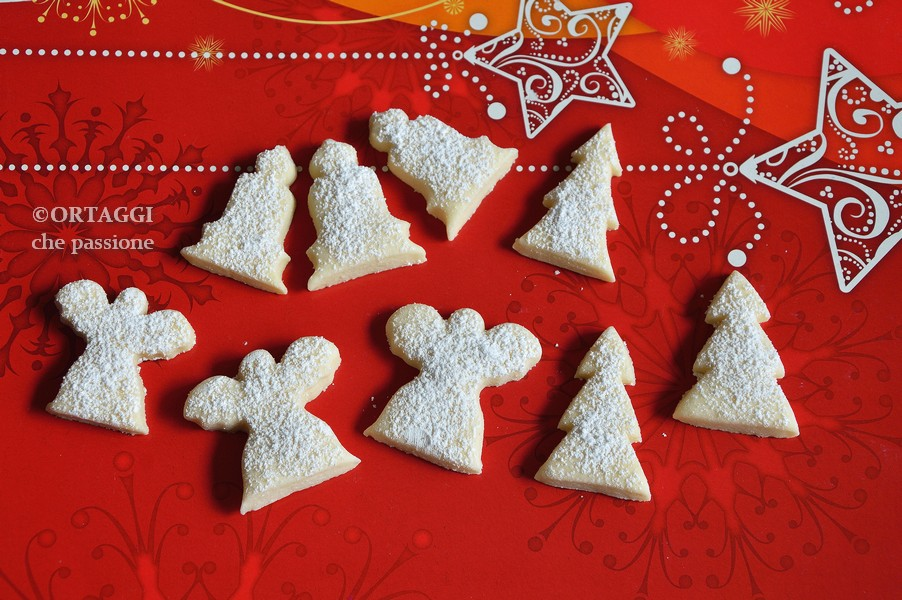 Biscotti White Christmans vegani per Natale