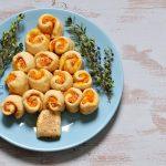 Albero di Natale – Torta salata vegana