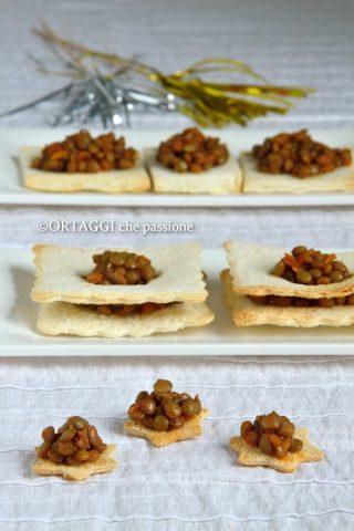 antipasto di lenticchie - ricetta facile e veloce
