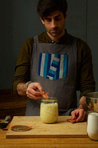Ricetta crauti fatti in casa Flavio Sacco - fermentalista