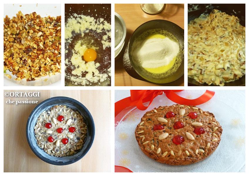 foto ricetta passo passo torta Zelten