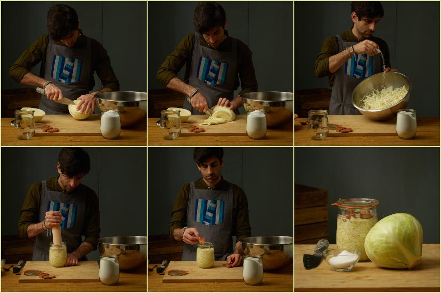 ricetta crauti - foto passo passo
