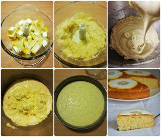 torta al cedro - ricetta passo