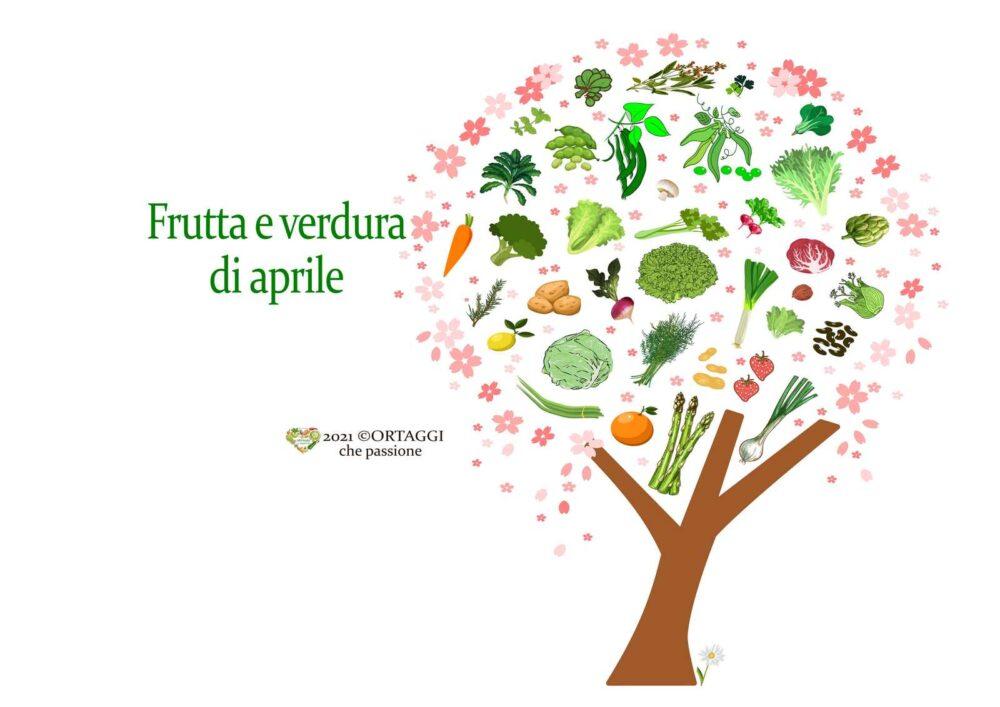 O 4 APRILE frutta e verdura di stagione