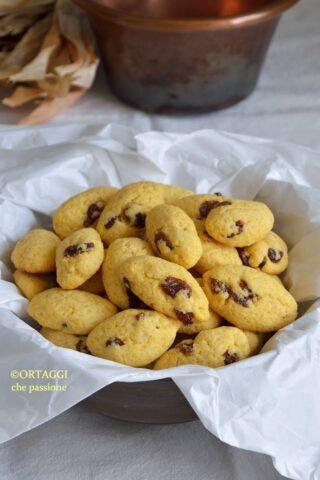 Biscotti zaeti tipici veneziani
