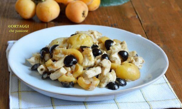 Pollo con nespole – ricette con frutta