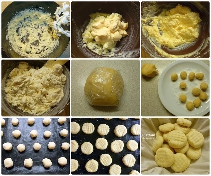 BISCOTTI MAIONESE ricetta foto passo passo