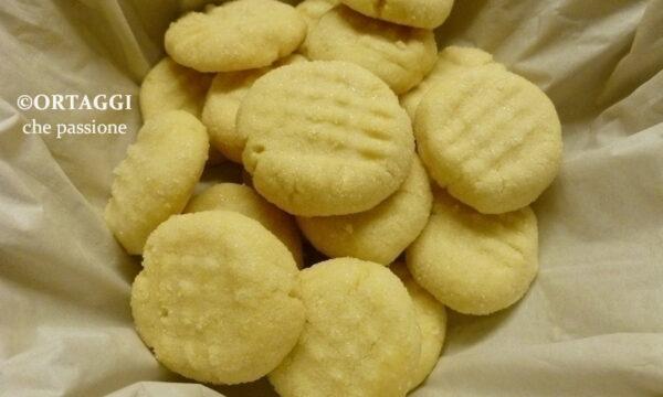 Biscotti maionese – friabilissimi