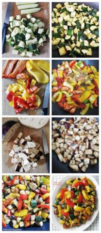 Verdure estive in padella - foto ricetta passo